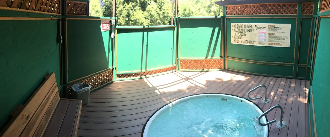 Accessibility Sycamore Hot Springs Is Very Easy This Resort Right Off Highway 101 The Wooden Spring Tubs Are Alongside A Mountain And Have Built