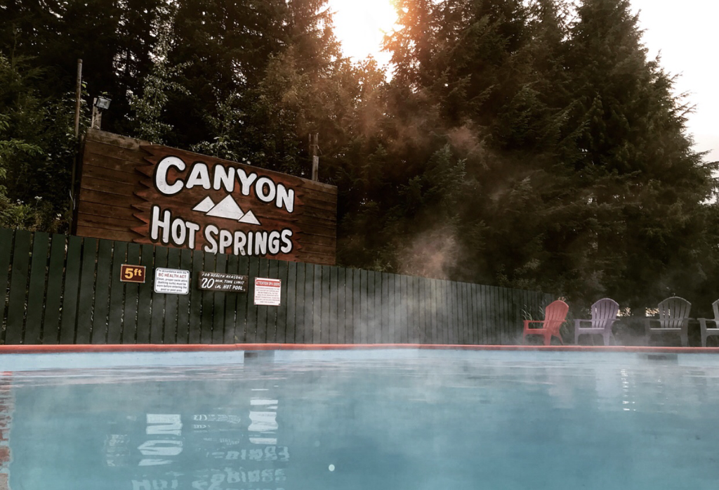 canyon hot springs bc